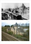 Adwick station then and now