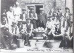Bentley miners on strike 1926