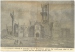 St Georges immediately after the fire