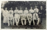 Doncaster YMCA cricket team 1913
