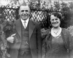 H.H.Bone (Mayor) with his wife - 1935