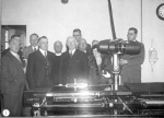 Mayor with the first X-ray Machine at Doncaster Hospital - 1935