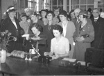 Sewing room Doncaster infirmary - 1935