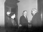 Ramsay MacDonald visit- 1935