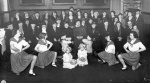 Dance school entertains ladies of the town -1935