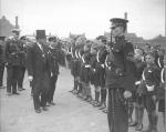 Inspecting the Boys Brigade - 1935