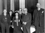H.H.Bone Mayor entertains Ramsay MacDonald a the Mansion House - 1935