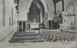 Interior of St Johns Church Balby