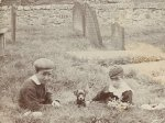 Kids in Hyde Park Cemetery
