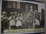 Training the kids at Kirkby Ave school WWII