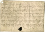 Document signed Earl of Doncaster