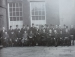 mayor halmshaw and corporation 1909