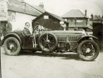 Norman Roberts outside andersons garage on york rd - J Kitson