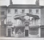 Parkinsons shop, High Street, Doncaster