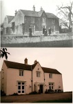 Skellow Hall then and now