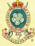 Yorkshire Dragoons Badge
