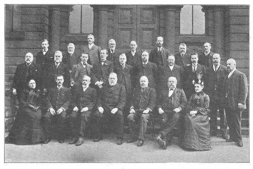 The 1903 Doncaster Committee with Cllr. Wightman 4th from Left